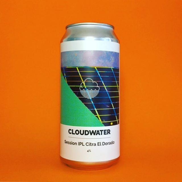 New @cloudwaterbrew Session IPL, 4% session strength dry-hopped lager  #Beer #edinburgh #craftbeer #beerstagram #beertography #instabeer #beergeek #craftnotcrap #lager