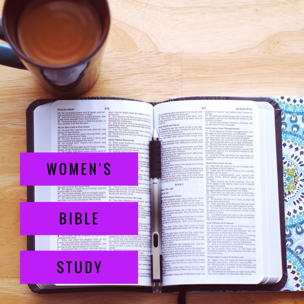 Women's Bible Study - It is open to women of all ages. Child care available upon request. contact Canon Katie