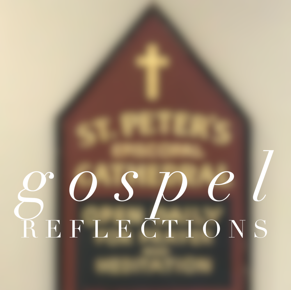 Gospel Reflections - 8-9 a.m. Tuesdays, Chapter Room. We read the lessons for the coming Sunday, focusing on the Gospel reading. Contact: Judy Stark, judystark@yahoo.com