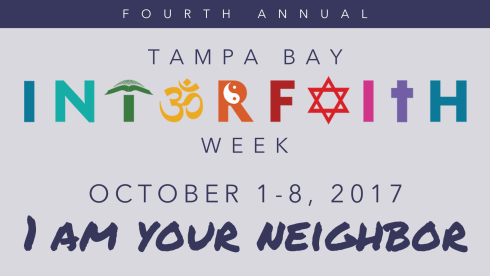 Opening Worship - Tampa Bay Interfaith Week Will Hold Opening Worship at St. Peter's.