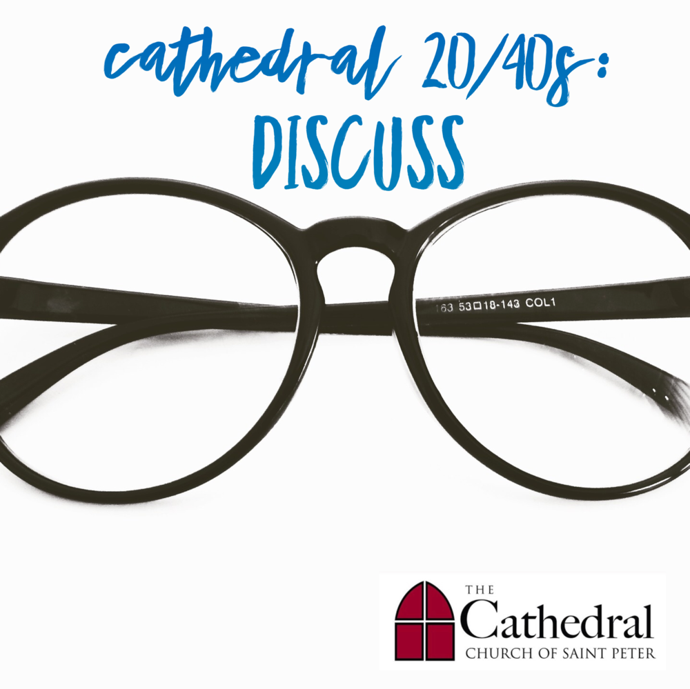 Discussion - Let's get together about once a month, probably evenings during the week, to talk about: Scripture, current events, books, and topics of interest. There can be overall themes & readings to get the conversations going, with different people who sign-up to lead. An inclusive and safe space for the sharing of discussion and ideas.Email Emily to join the