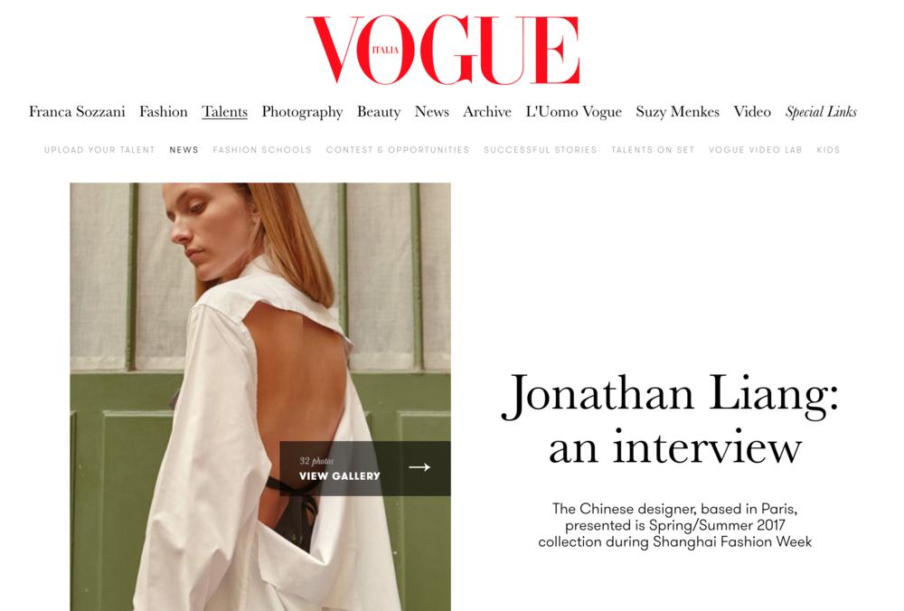 Vogue Italia (November 2016)