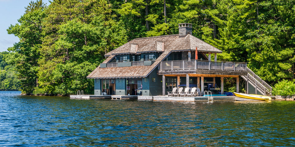 MUSKOKA ISLAND BOATHOUSE - 14.2047