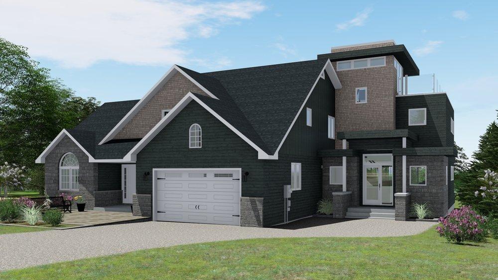 Option 4 - Flat Roofs