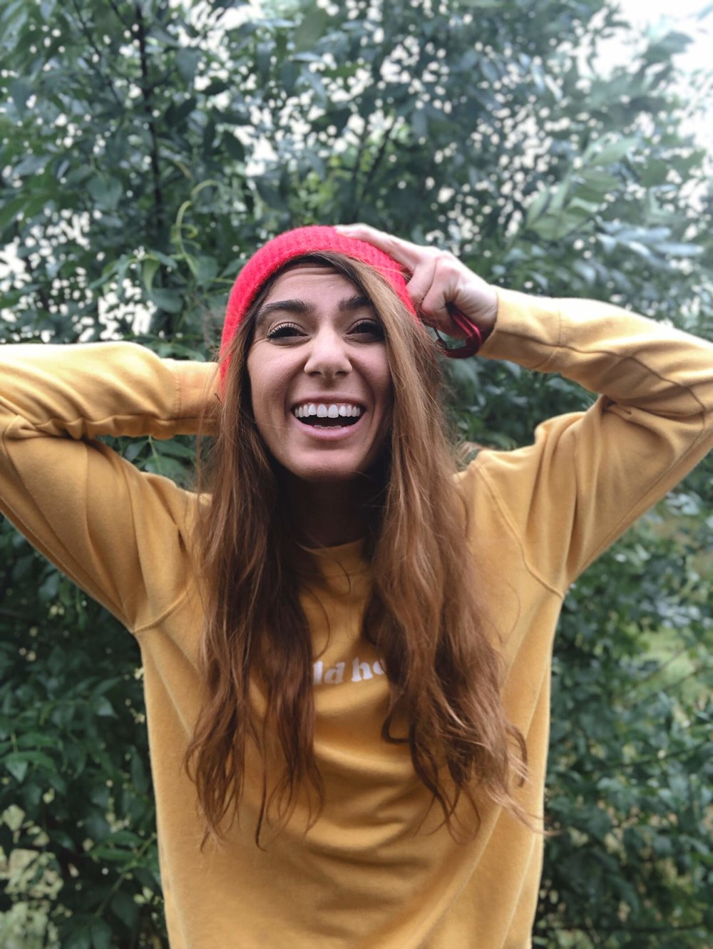Wild Honey sweatshirt by IndyBrand Clothing