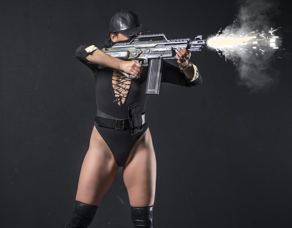 Black Faction Elite Unit Firing