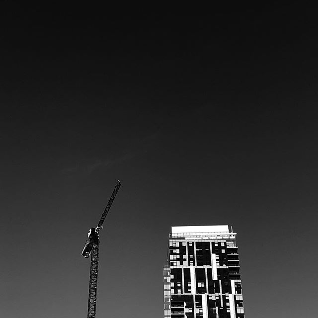 Crane  #gildedcrow #design #style #branding #webdesign #marketing #photography #vancouver #604 #yvr #las #networking #business #success #nyc #marketing #blackandwhite #bw #architecture #architecturephotography