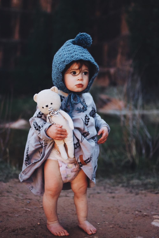 Bonnet from Darling Little Knits