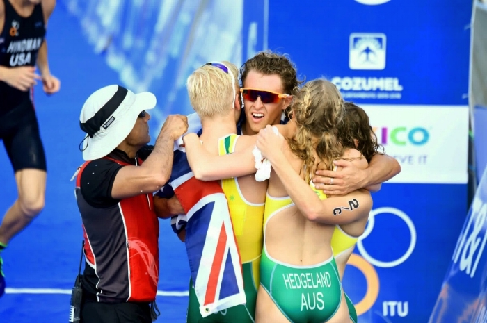 Ps. Our Aussie team won bronze in the Mixed Junior and Under 23 Relay World Champs! Finishing my worlds trip on a high