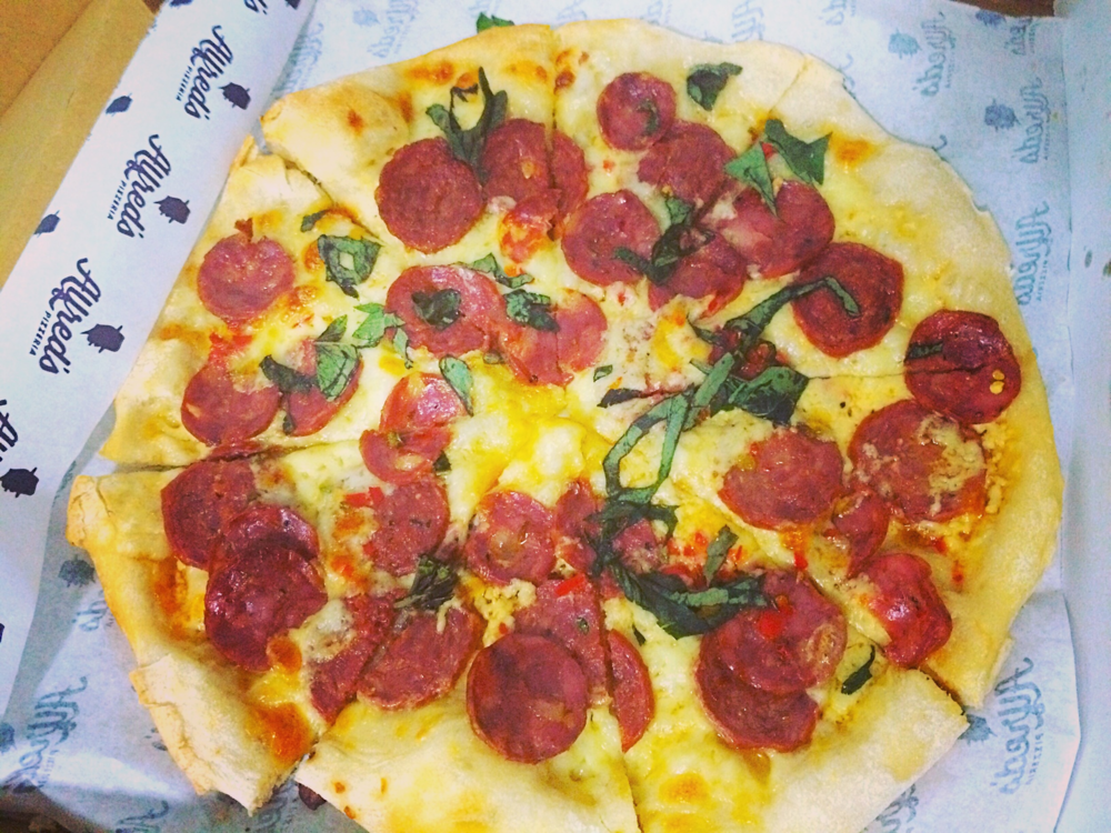 Rocky - Italian sausage, pepperoni, chilli and basil