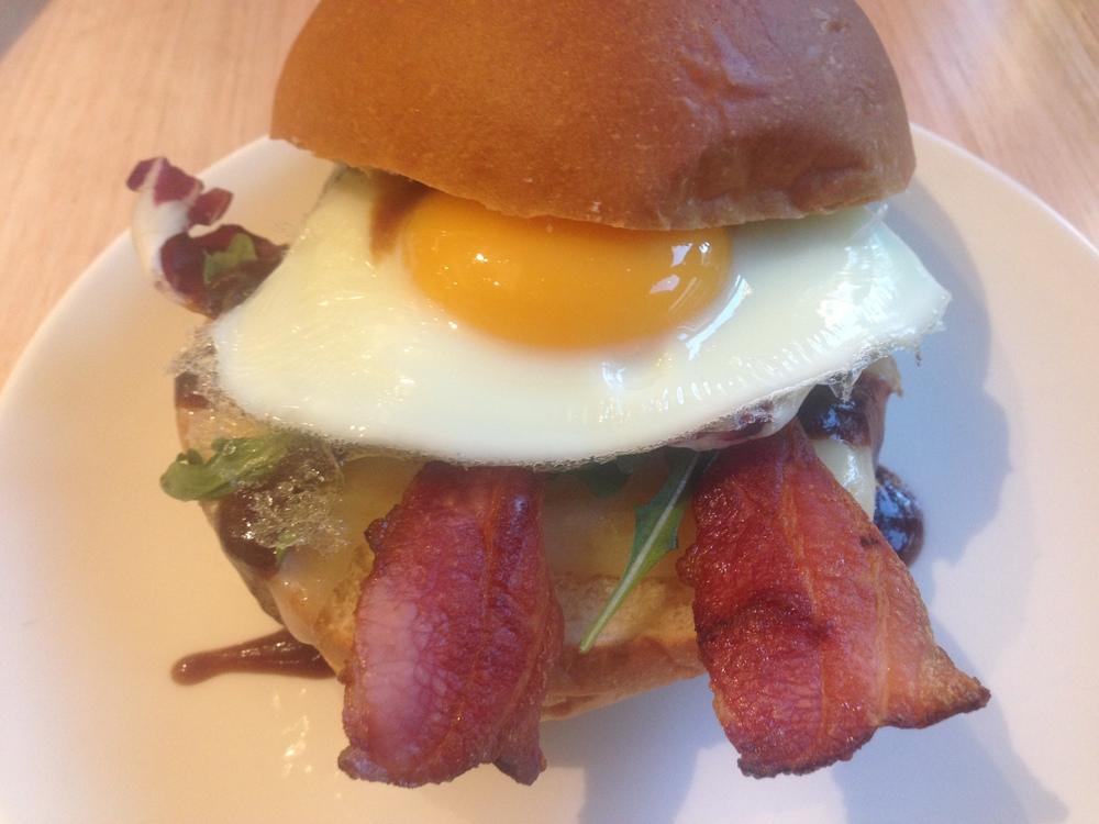 Brioche Bacon and Egg Roll