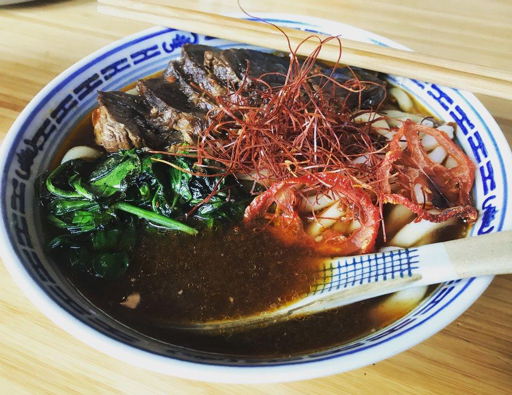 Stewed Beef Brisket Noodle Soup