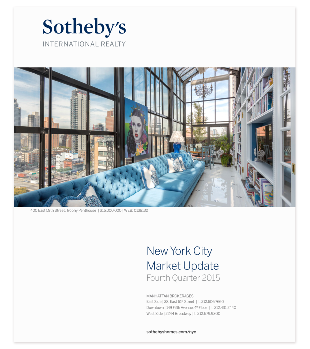 Optimistic Voices II,   in the featured penthouse of the   Sotheby's   quarterly report cover.