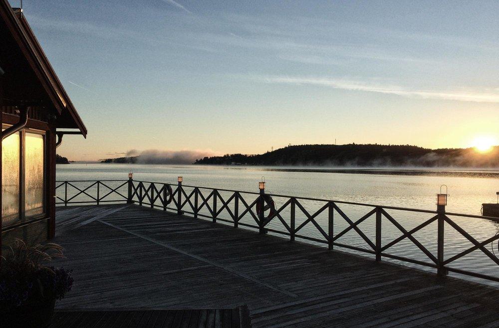 Mellan 3:e och 28:e September avgår all färjetrafik till Fjäderholmarna från Skeppsbron i Gamla Stan