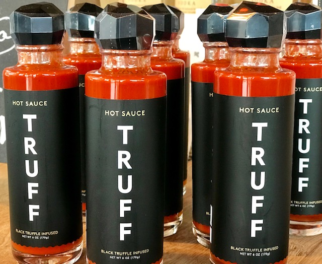 New featured products… - TRUFF Hot Sauce is a delicious blend of ripe chili peppers, organic agave nectar, black truffle, and savory spices. A meticulously crafted flavor profile from ingredients normally reserved for fine tequilas, delicate delicacies, and elegant dining experiences. This combination of ingredients delivers a flavor profile unprecedented to hot sauce. A delicious hot sauce to put on anything and everything!