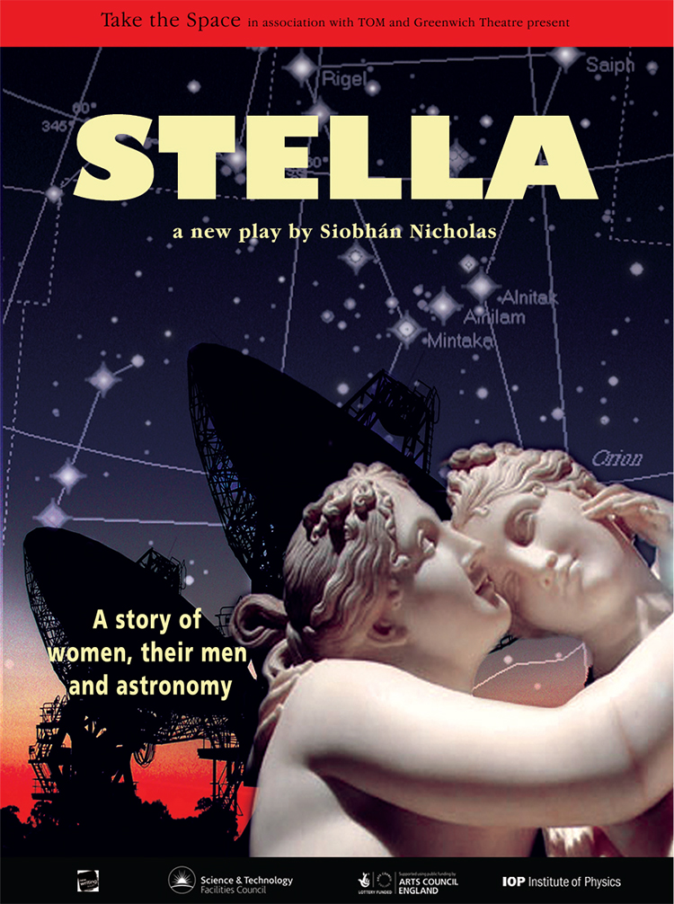 Stella, a story of women, their men and astronomy by Siobhán Nicholas