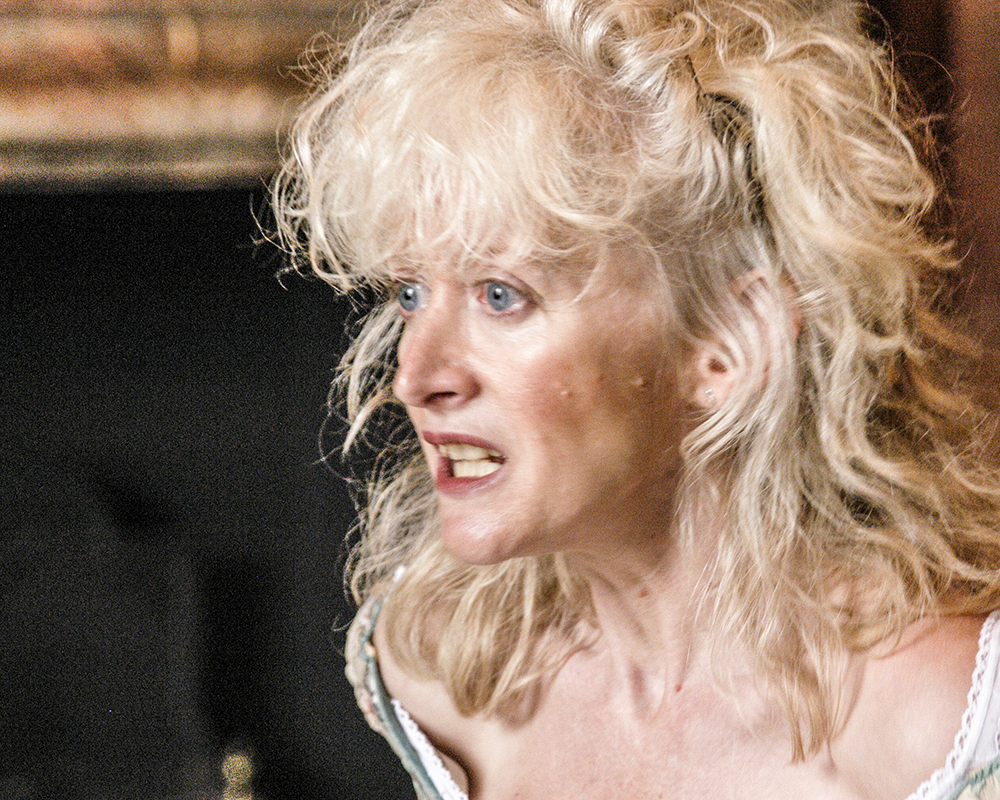Actress Siobhan Nicholas in Take the Space's production of Sam and I.jpg