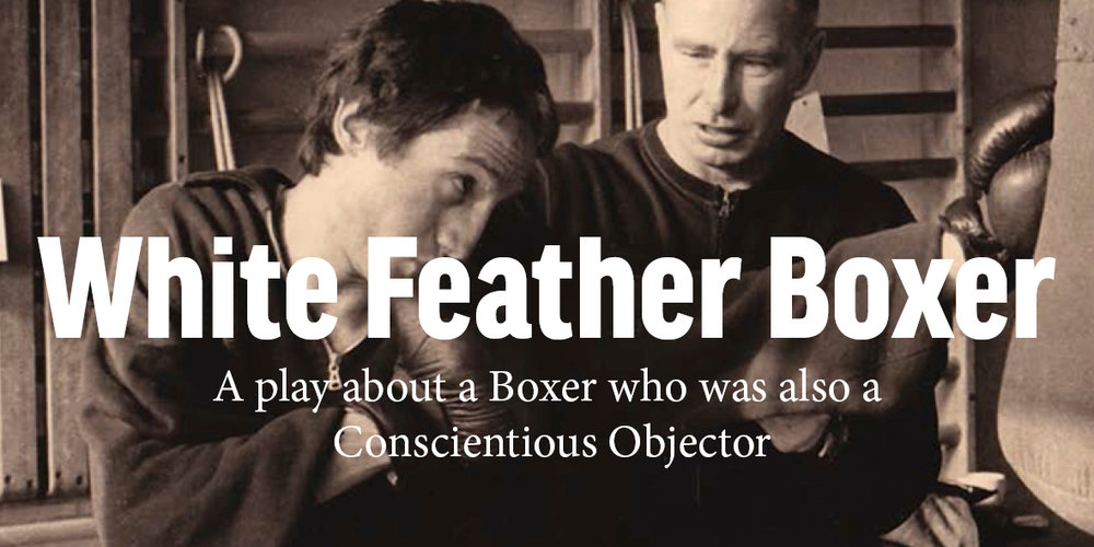 Image Gateway for Take the Space's Production of White Feather Box