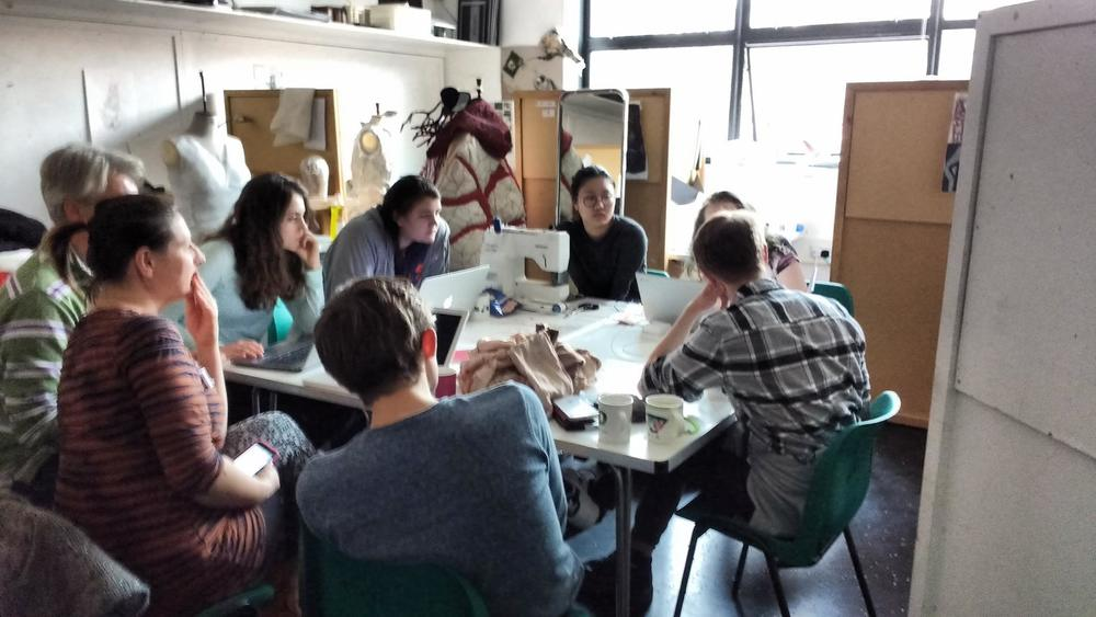 The Kappa Effect | Production Meeting | Photo Credit: Iona McLeish