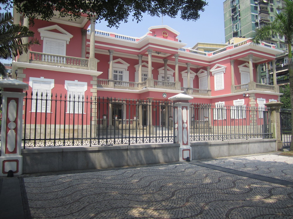 Palacial Buildings in Macau