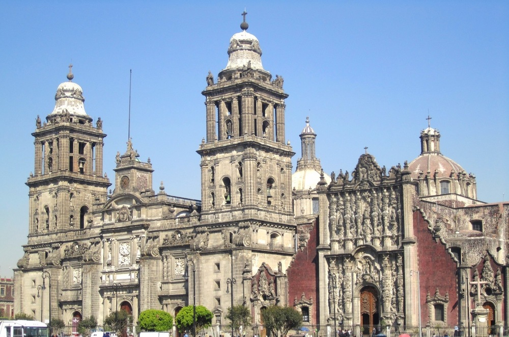 The Mexico City Metropolitan Cathedral     Photo:  Calvin Wood