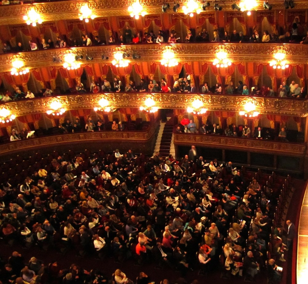 Teatro Colon   Photo:  Calvin Wood