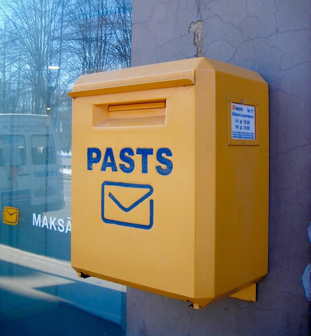 Latvian Mailbox  Photo: Calvin Wood