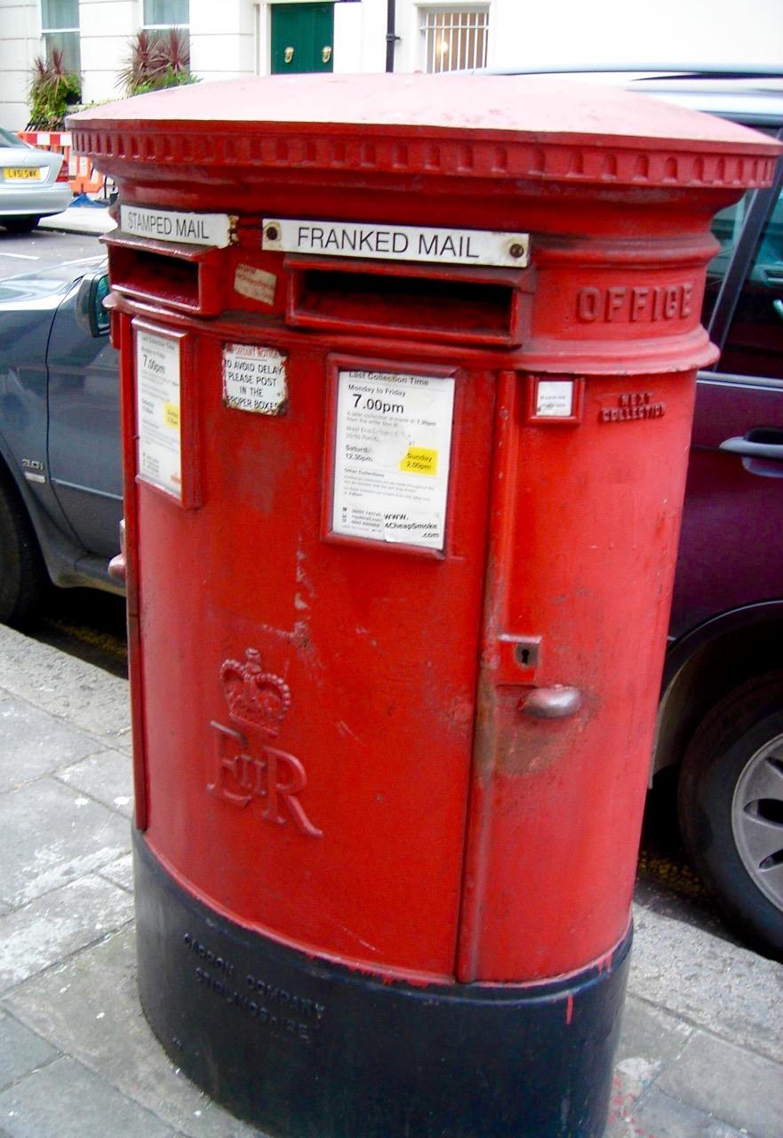 British Mailbox  Photo: Calvin Wood