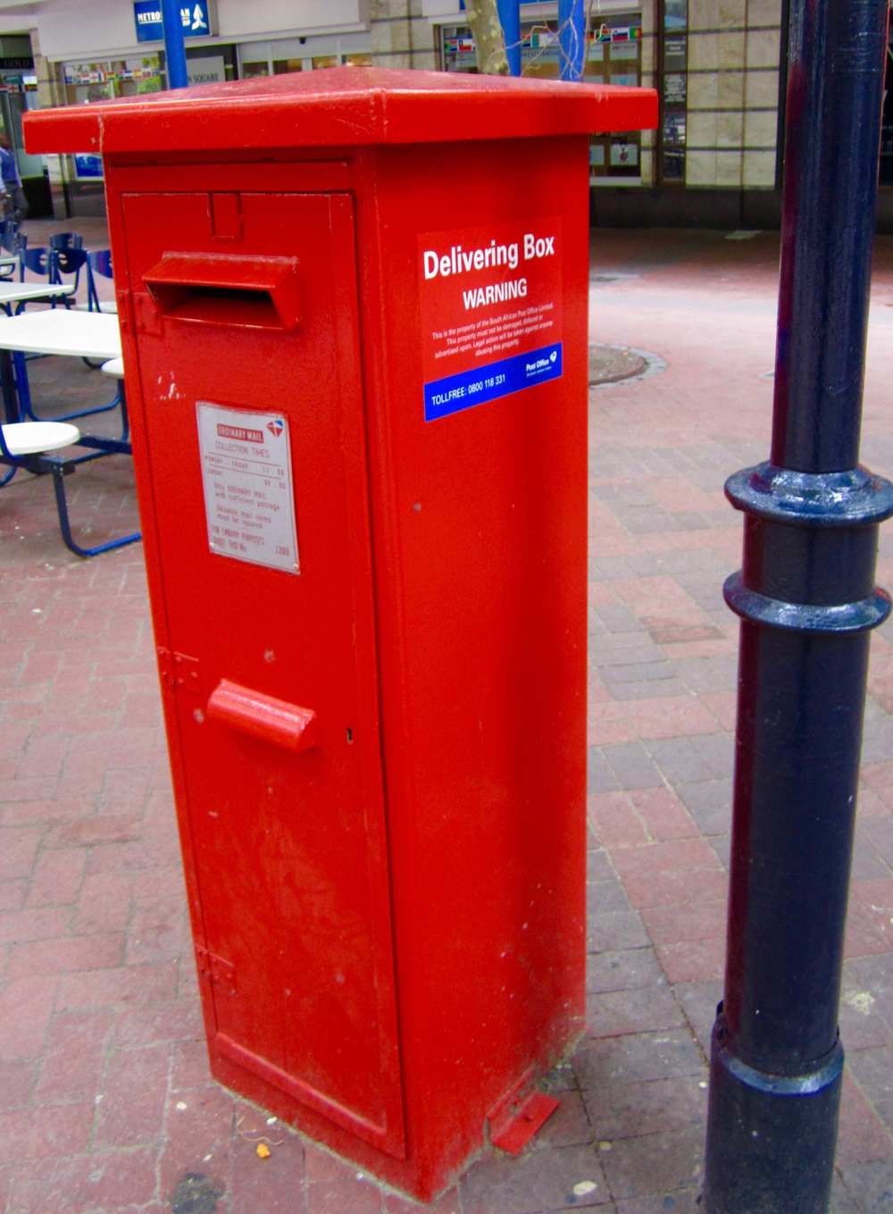 South African Mailbox  Photo: Calvin Wood