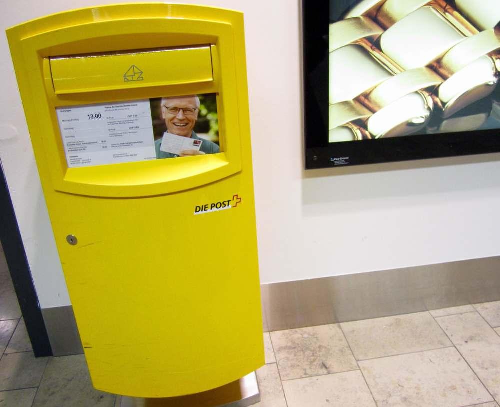 Swiss Mailbox  Photo: Calvin Wood
