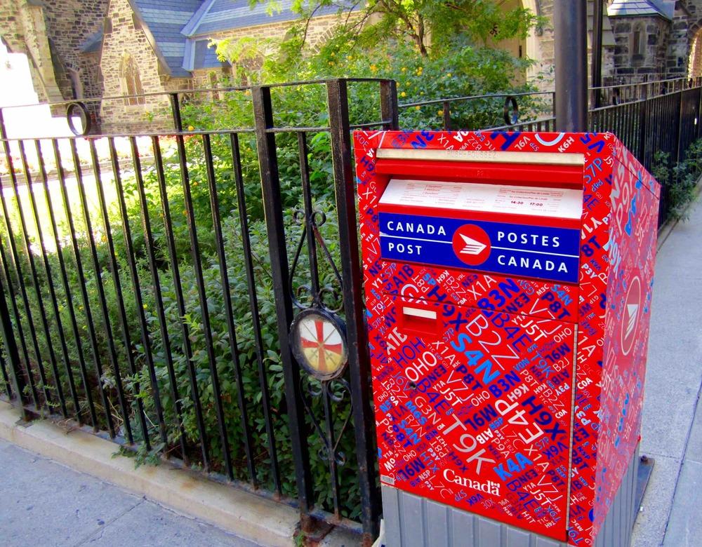 Canadian Mailbox  Photo: Calvin Wood
