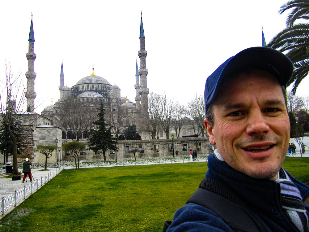 Sultan Ahmed Mosque - The Blue Mosque Exterior   Photo:  CalvinWood