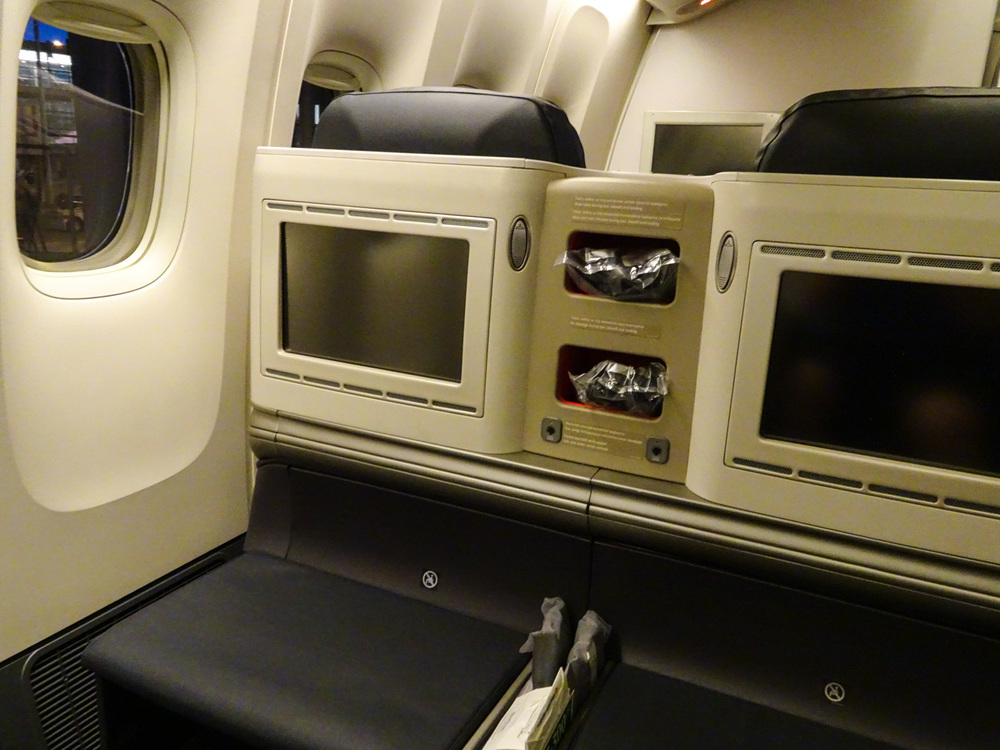 AVOD Business Class Turkish Airlines 777  Photo:  Calvin Wood