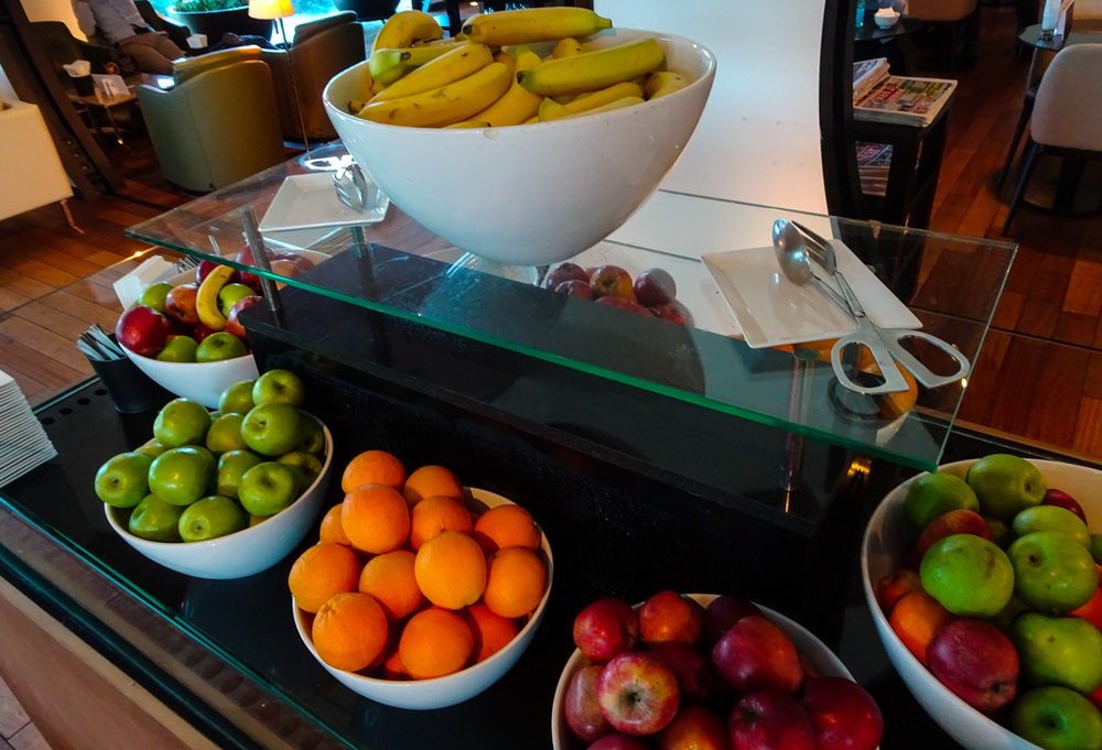 Fruit Bar - Turkish Airlines CIP Lounge    Photo:  Calvin Wood