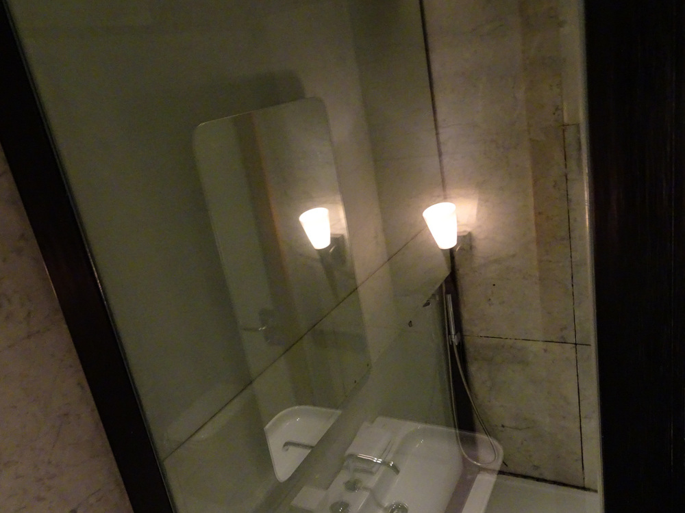 Shower Stall - Turkish Airlines CIP Lounge    Photo:  Calvin Wood