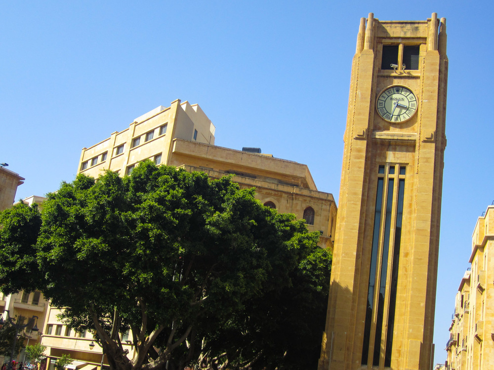 Nejmeh Square Beirut  Photo: Calvin Wood