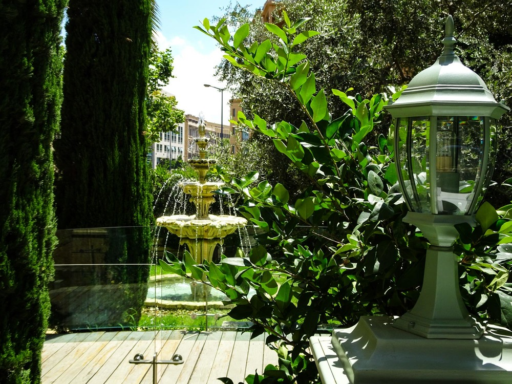 Garden At Ladurée  Photo: Calvin Wood