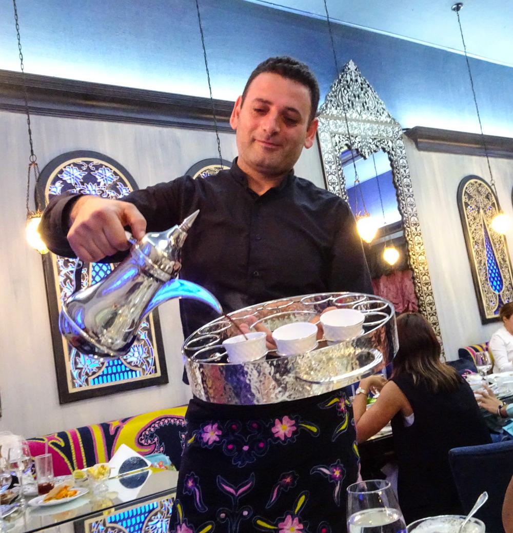 Coffee Service - Em Sharif  Photo: Calvin Wood