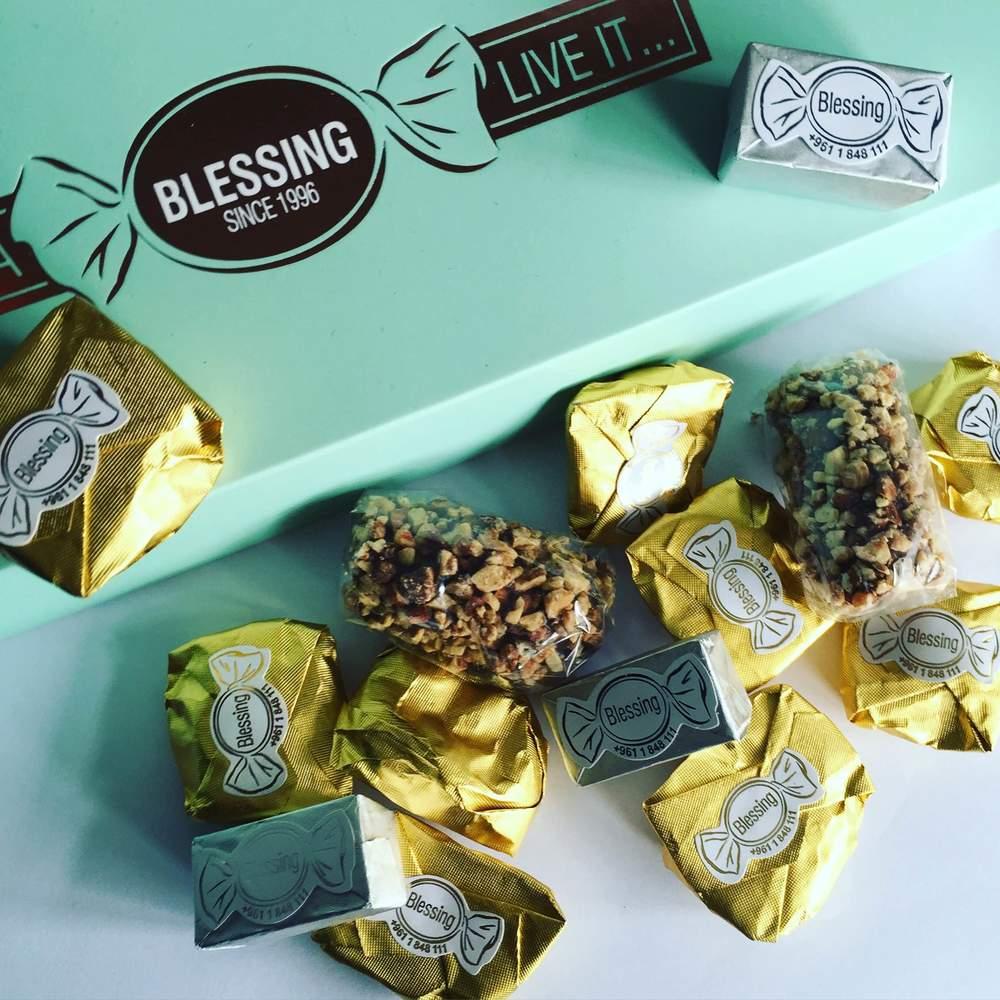 Blessing Chocolates - -Pure Joy!!  Photo: Calvin Wood