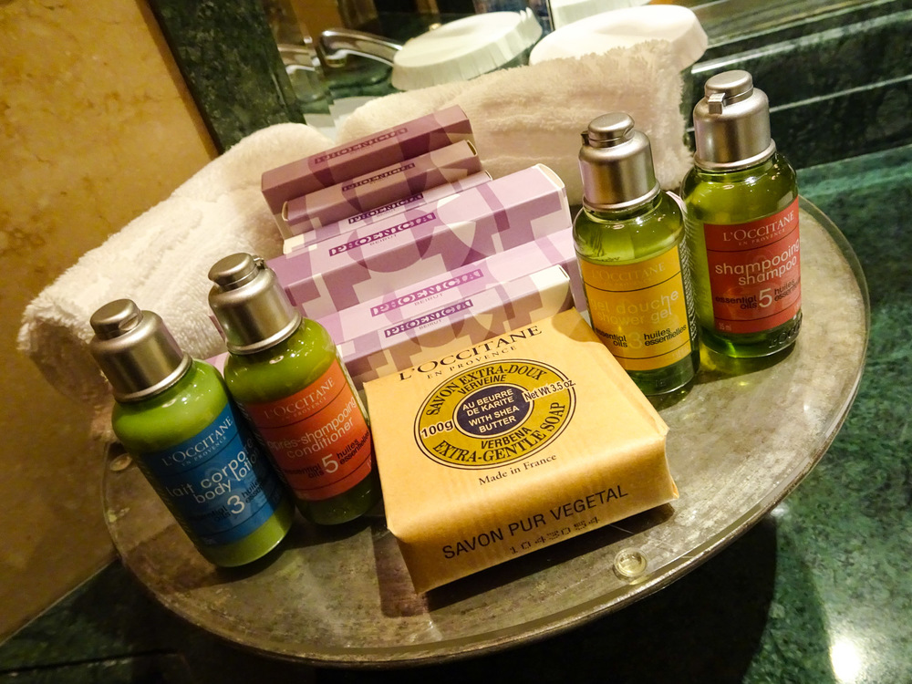 Fantastic Bathroom Amenities - Phoenicia Hotel Beirut   Photo:  Calvin Wood