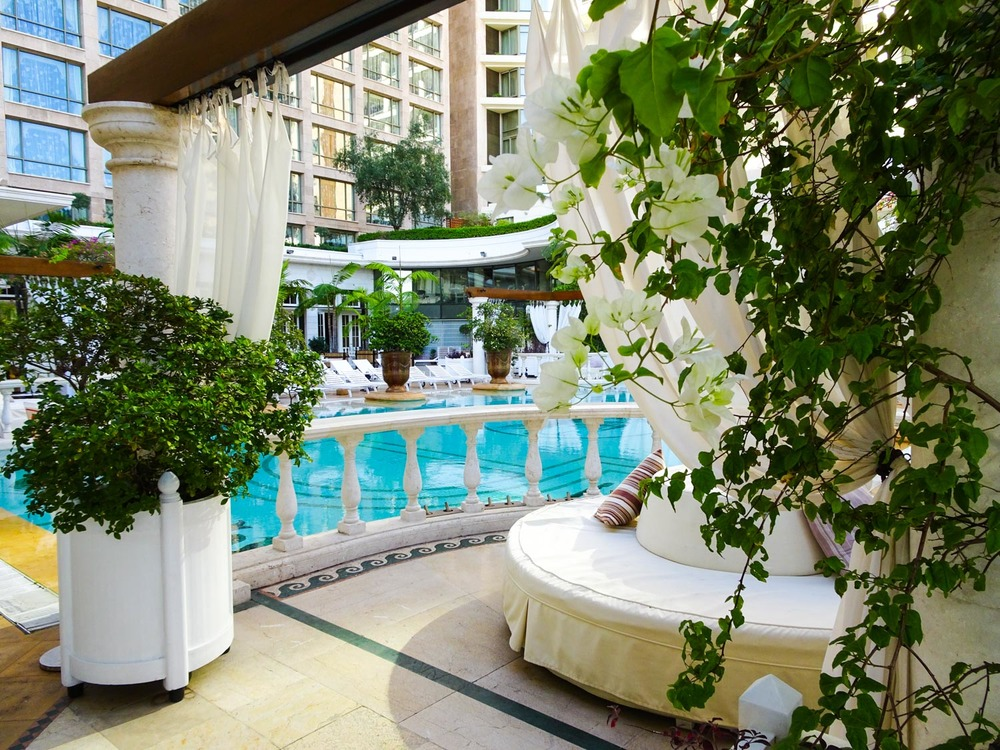 The Pool -Phoenicia Hotel Beirut   Photo:  Calvin Wood