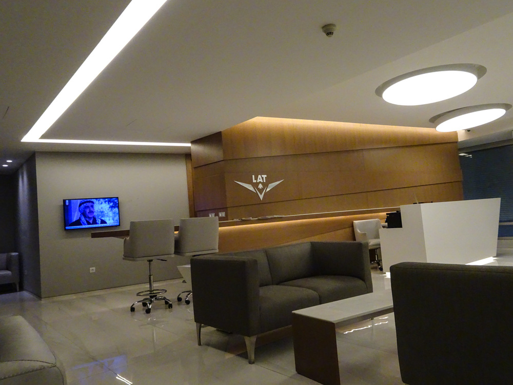 LAT Lounge Beirut Airport - Front Desk Area    Photo:  Calvin Wood
