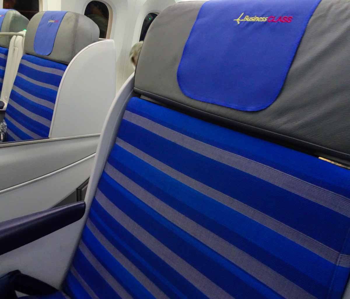 Africa Business Class: LOT Polish Airlines Business Class Review –Embraer 195
