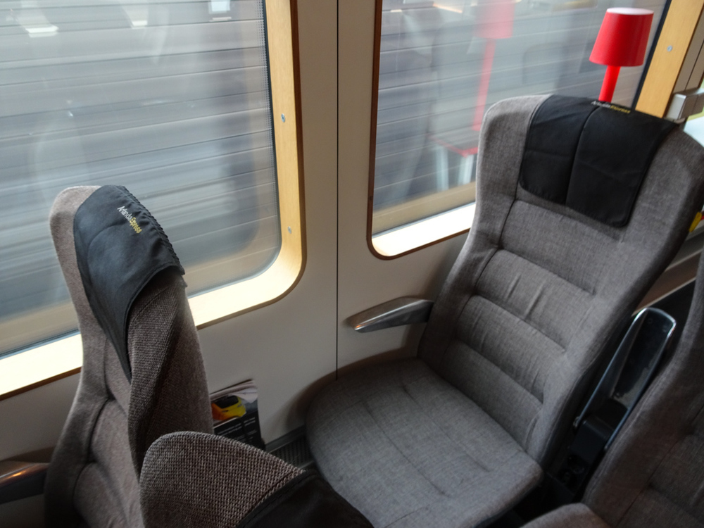 Arlanda Express Train - Seating and Windows   Photo:  Calvin Wood