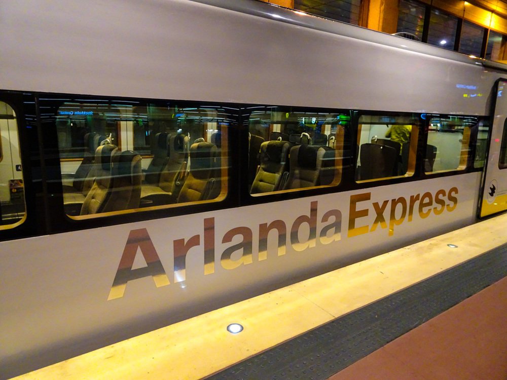 Arlanda Express   Photo:  Calvin Wood