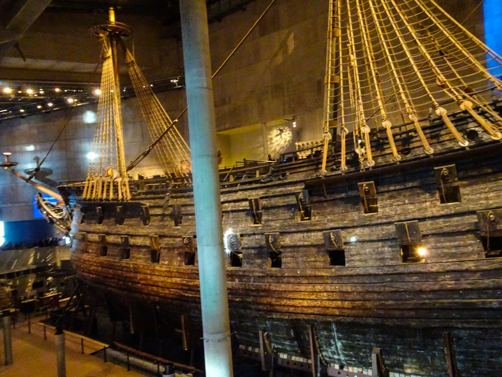 Stockholm - The Vasa Museum   Photo:  Calvin Wood