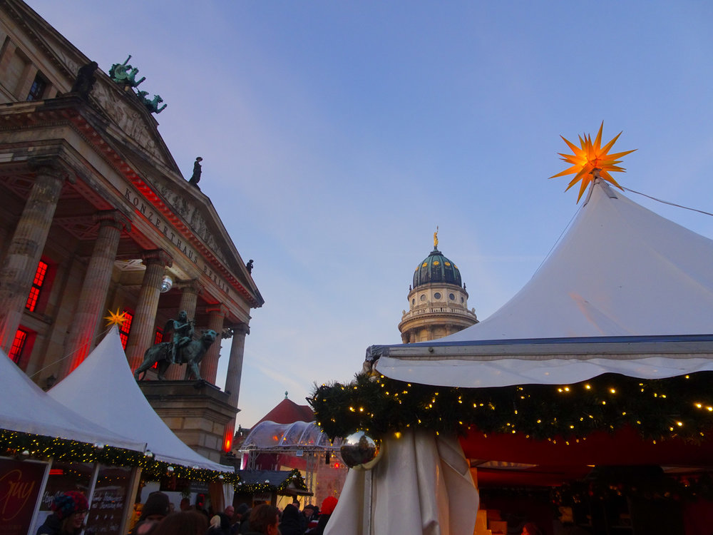 Berlin Christmas Markets --Koncerhaus Photo Calvin Wood