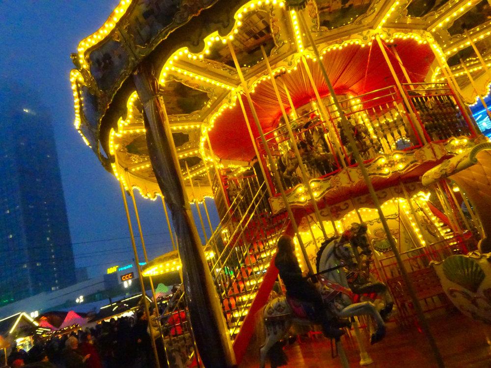 Carousel Berlin Christmas Markets  Photo: Calvin Wood