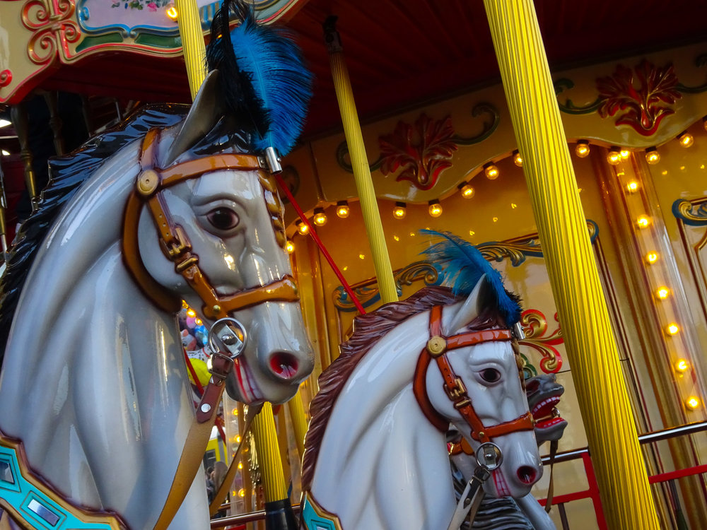 Carousel Horses Berlin Christmas Markets  Photo: Calvin Wood