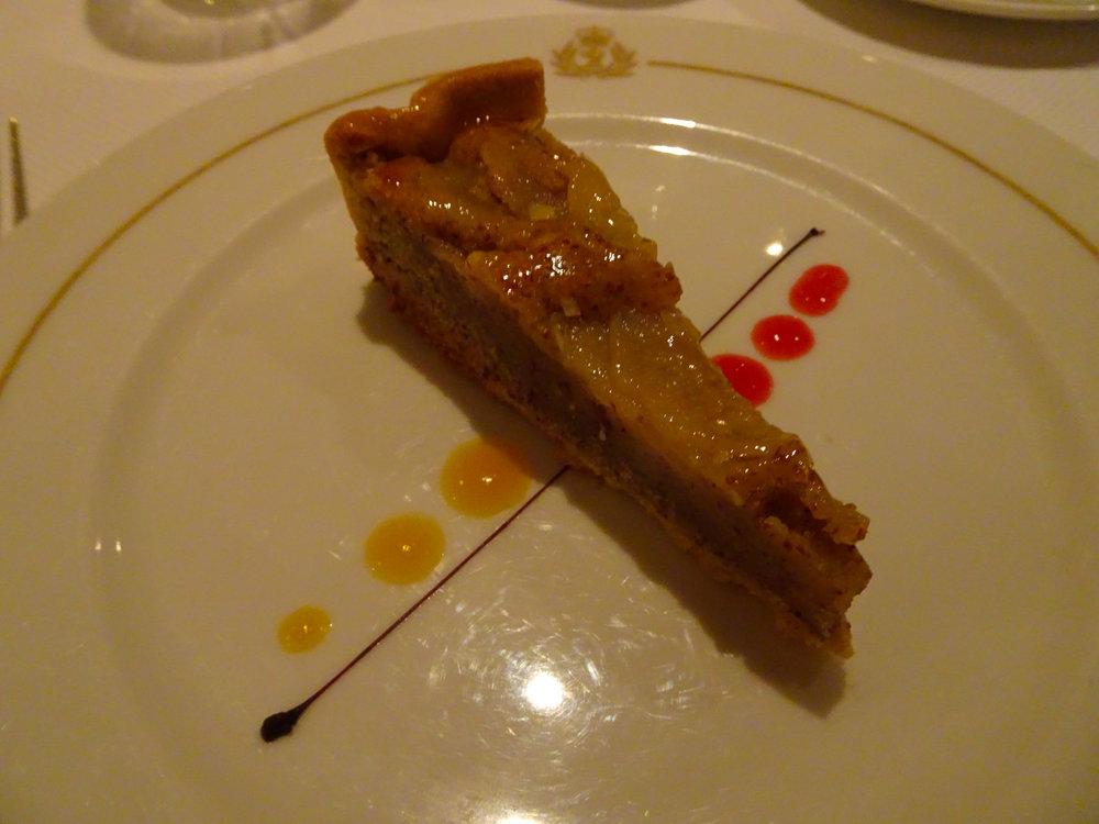 Almond Tart - Britannia Dinner